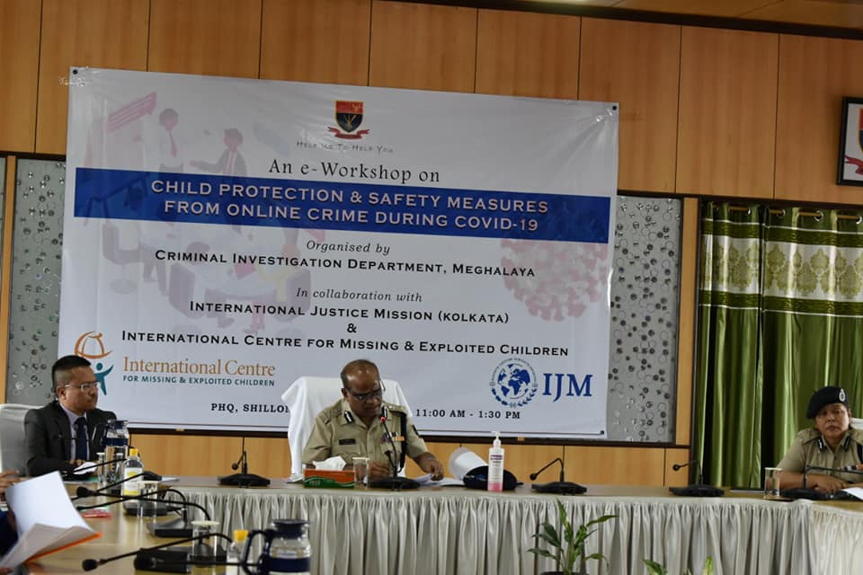 e-Workshop on Child Protection & Safety Measures from Online Crime During COVID19