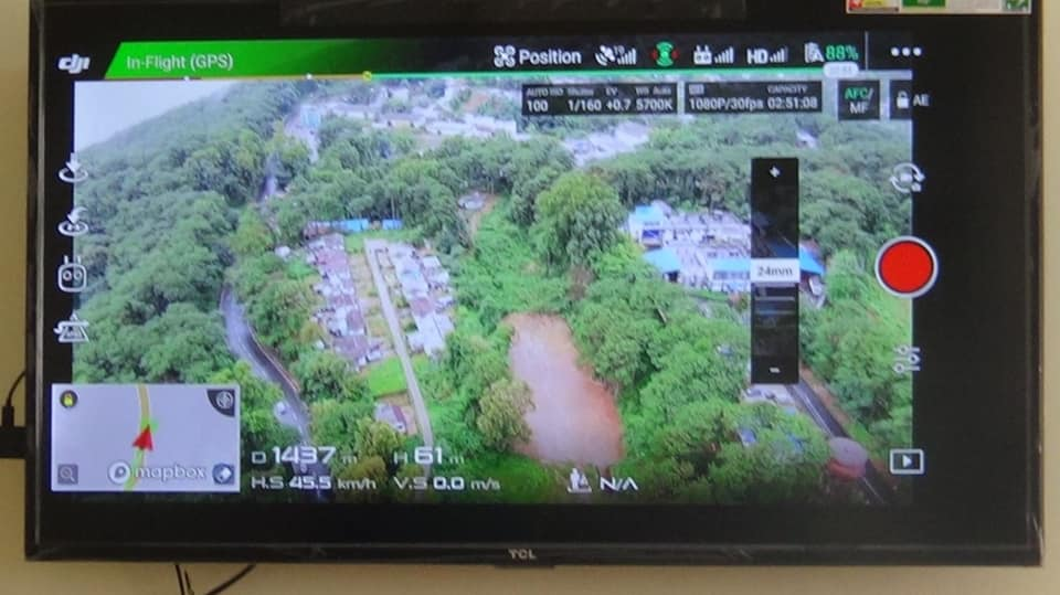 Drone Control Room at Mawlai PS