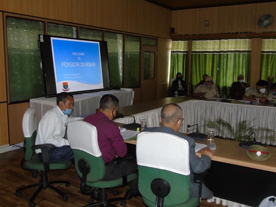 Pension Durbar was held at PHQ, Shillong on 10.07.2020