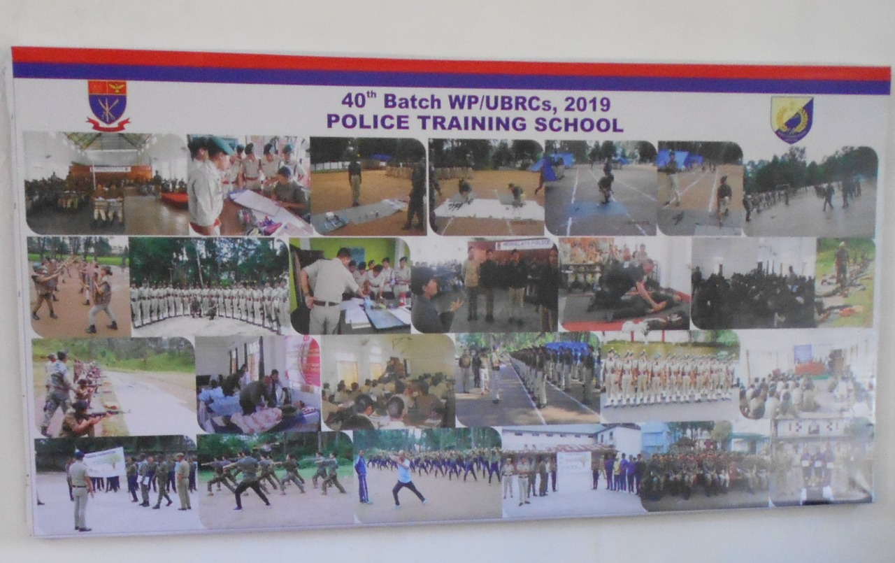 Passing Out Parade of the 40th Batch WP/ UBRCs at Police Training School held on 15th November, 2019