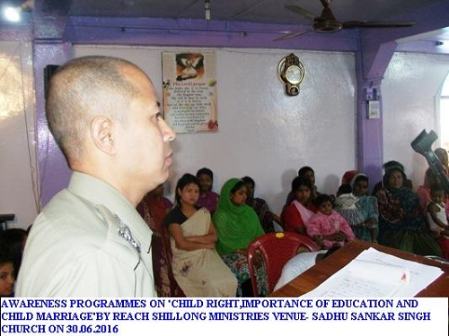 Awareness Programmes on 'Child Rights, Importance of Education for Children etc'