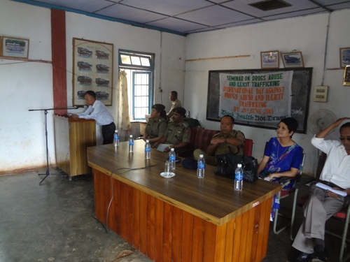 Seminar on Drugs Abuse and Illicit Trafficking on the International Day