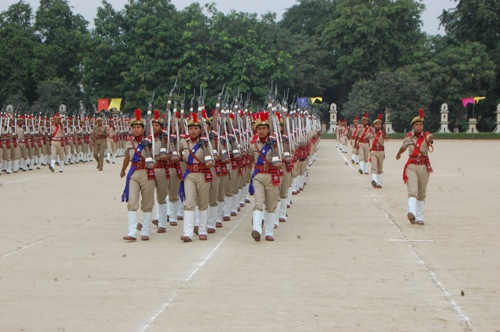 Passing out parade of Meghalaya Police Sub-Inspectors
