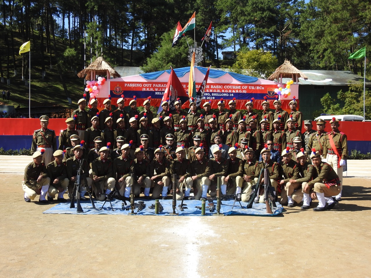 Passing out parade of 41 Batch