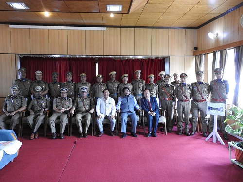 Investiture Ceremony function of Meghalaya Police