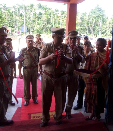 Inauguration of Shella Police Station Building