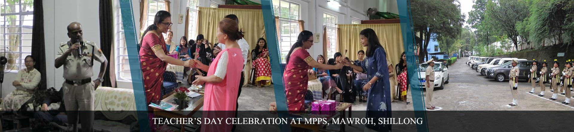 Teachers Day Celebration at MPPS, PTS, Mawroh