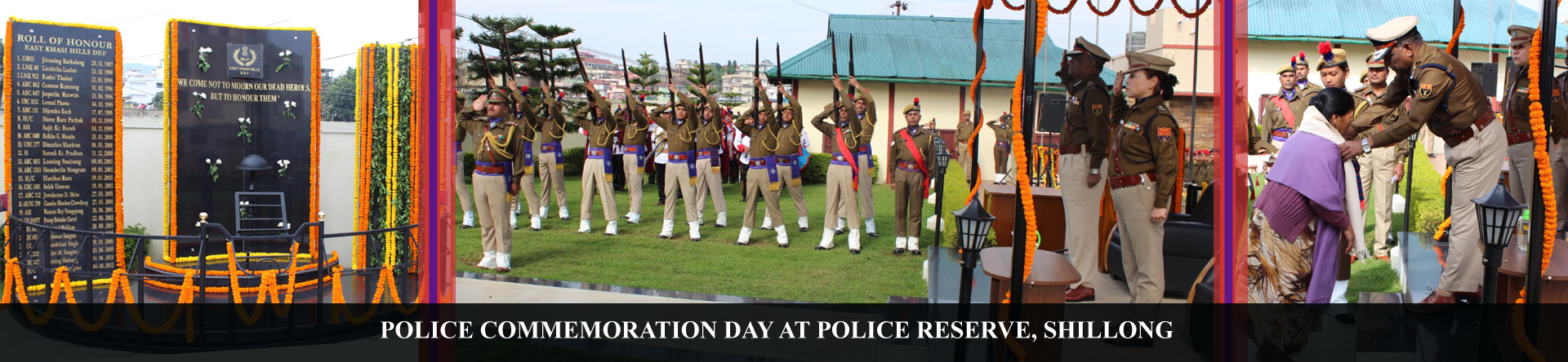 police commeration day 2019 at police reserve shillong