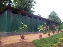 Sanitary Toilets and Drinking Water Filter Units at 2nd Bn MLP, Goeragre, Tura
