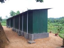 Sanitary Toilets Installation