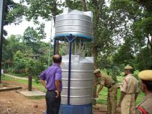 Drinking Water Filter Units at 2nd Bn MLP, Goeragre, Tura