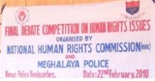 Final Debate Competition on Human Rights Issues