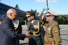 DGP received Ram Nath Kovind