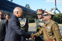 DGP received Ram Nath Kovind