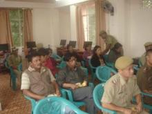 Police Constable at Inauguration of District Training Centre, West Khasi Hills
