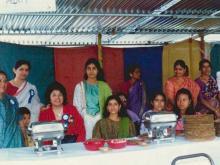 Mini-bazaar organised at All Saint's Hal