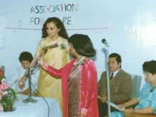 Inauguration Police Officer's Wives' Association for Care