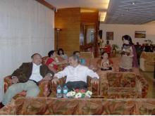 Guests interacting during Meeting