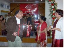 Felicitating Guest At POWAC Photos