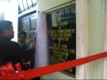 Inauguration of DTC in East Khasi Hills, Shillong by Shri D.N. Jyrwa, Superintendent of Police