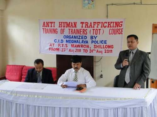 Inauguration of Anti Human Trafficking Training of Trainers (TOT) Course Organised by CID Organisation, Meghalaya Police