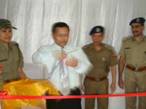 Inauguration of District Training Centre, West Garo Hills, Tura by Shri D. N. Jyrwa