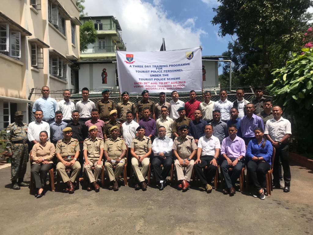 Three days training programme for tourist police personnel under tourist police scheme