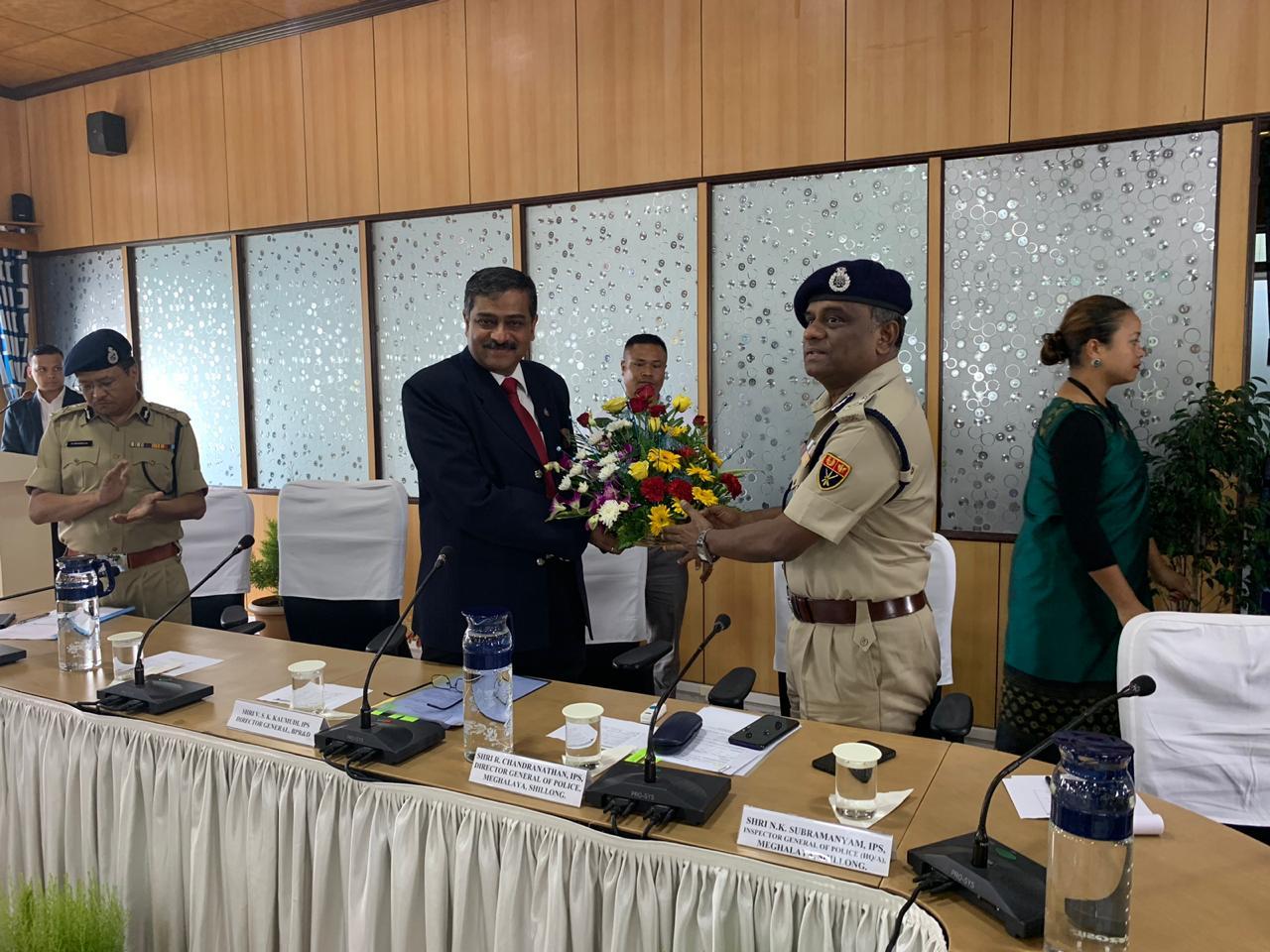 Visit of Director General, BPR&D