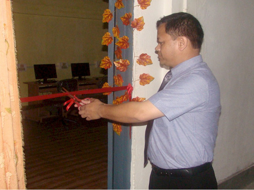 Inauguration of District Training Centre at East Garo Hills, Williamnagar by Shri D.N. Jyrwa, Superintendent Of Police